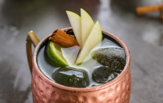 Spiced Apple Moscow Mule