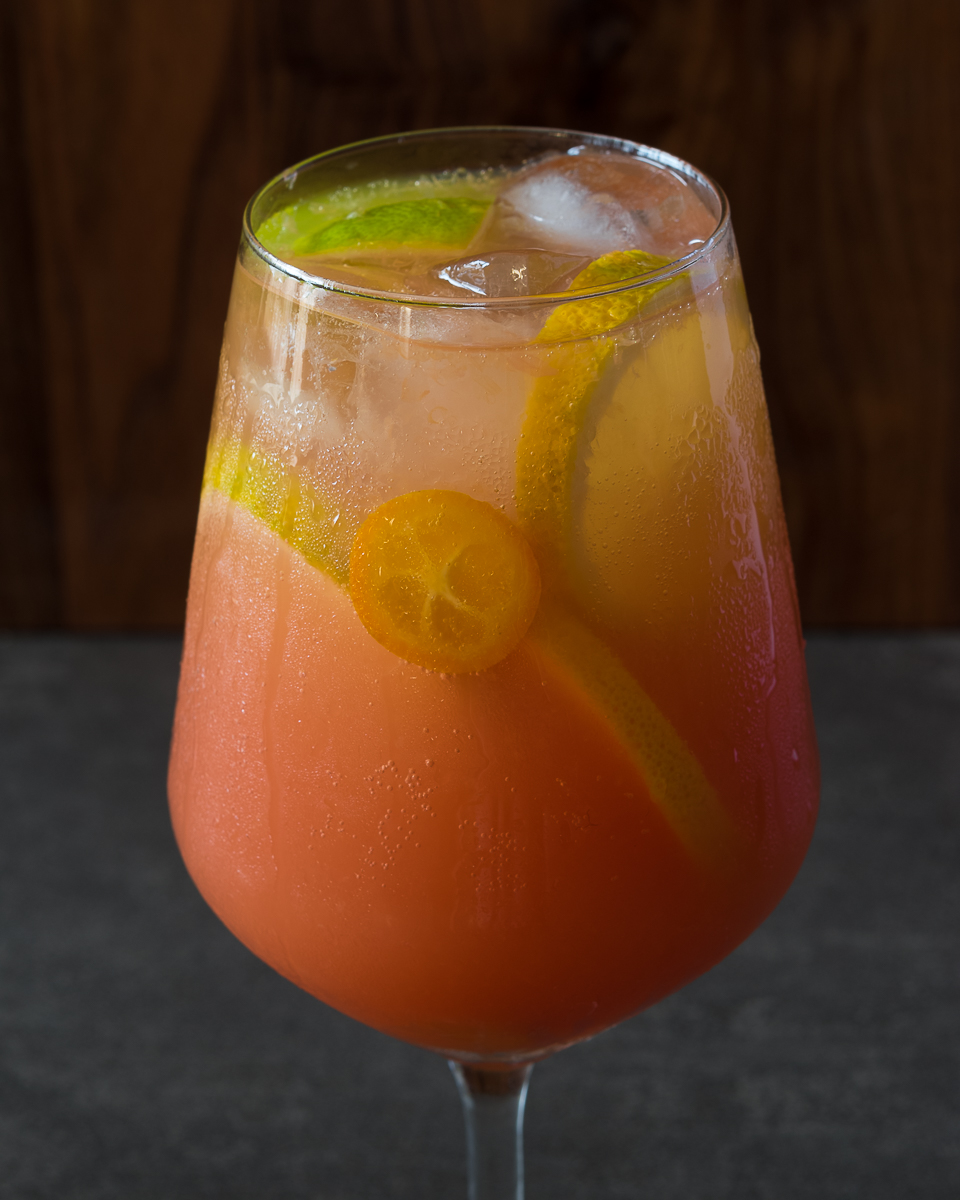 Gin, Citrus cocktail