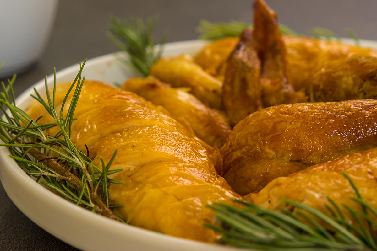Roast Chicken Carved