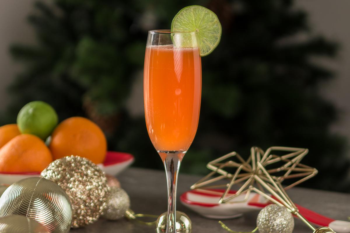 Tequila Blood Orange Seltzer Christmas