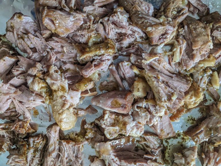 Carnitas braised pork